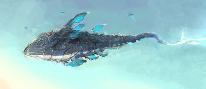 DRAGON FISH by artcobain