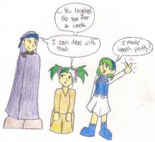 FE7: Nino made Heath Pretty by sarahakacelebi