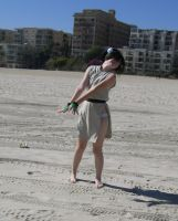 toph cant see . . to much sand by CursedBlackKat