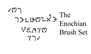 The Enochian Brush Set by vchangirl