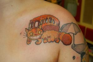Catbus Tattoo by yayzus