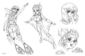 COM - Maya Concept Sheet by shoxxe