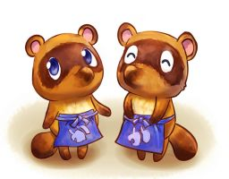 Timmy and Tommy from Nookling Junction by Neesha