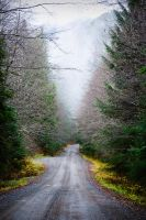 Connel Lake road by RHVC