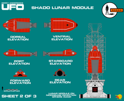 Gerry Andersons UFO SHADO Lunar Carrier Sheet 2 of by ArthurTwosheds
