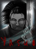 Yasuo Movie Poster by gabor5555