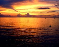 Sunset on the Eastern Sea - Updated by Estel-eAist