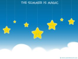 The summer is magic by mochichan