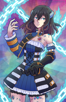 Bloodstained - Voltic Chains of Miriam by marcotte