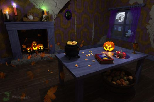 Haunted Room by JeddieFacenna