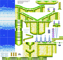 Sky Sanctuary Zone Sprites by SonicGenerations564s