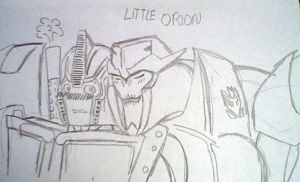 TFP Little Orion by arceeenergon
