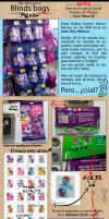 Codes for MLP Blind bags Mexico by Freefox