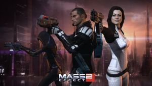Mass Effect 2 Wallpaper by Cain69