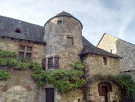 Turenne 09 - Medieval House by HermitCrabStock
