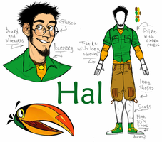 Angry Birds (Toons) : Hal humanization by MemQ4