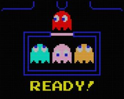 Lego Pac Man Ready by drsparc