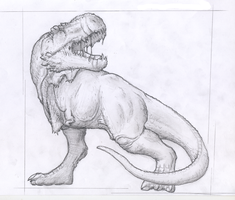 the king-t.rex by flumbo