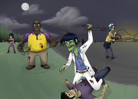 Gorillaz - L4D by Nickarooski