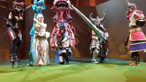 Cosplayers League of Legends Gamergy on Saturday by Morganita86
