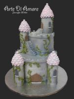 Castle Cake by ArteDiAmore