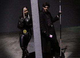 """Gambit and Rogue """"Cosplay"""" by IamTheWolverine"""