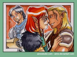 PSC - Zevran and Surana by aimo