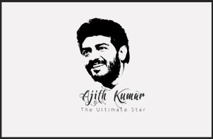 Ajith_Ultimate_Star by veeradesigns
