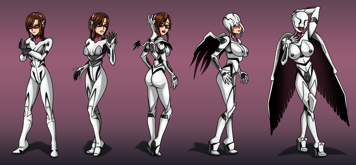 Mari's New Plugsuit (TF-sale commission) by Re-Maker