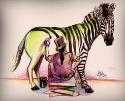 How the Zebra Came To Be by IronMaiden720