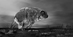 Digigraphy - Sacred Sheep by Eremes2703