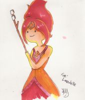AE: Flame Princess Marshmallow by LadyAuth