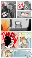A Family of Pricks ~Page 1~ by lionpants99