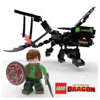 LEGO How to Train Your Dragon by Gashu-Monsata