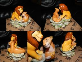 Lion King Schmid Sarabi And Mufasa Figure by OliveTree2