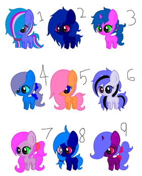mlp adopts 5 point each (OPEN) by swag76
