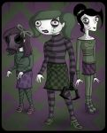 Clawdia and Friends by InsidiousTweevle