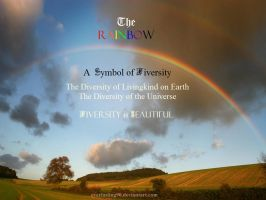 The Greatest Symbol of Diversity: The Rainbow by Everlasting90