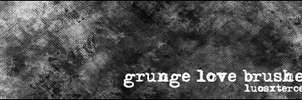 Grunge Love Brushes by luosxterces