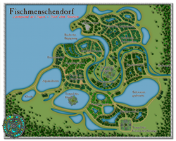 Fischmenschendorf - Village of the Fishmen by DarthAsparagus