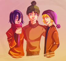 SWEATER WEATHER IS COMING by annogueras