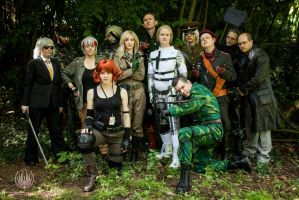 Metal Gear Group by PIPPA-512