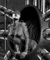 Welcome To The Machine by lone-wolf-boudin