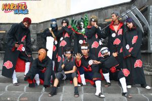 AKATSUKI SHIPPUUDEN COSPLAY by narutimate