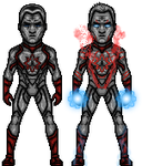 Captain Atom (DCCU) by LoganWaynee