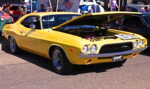 Yellow Mopar by StallionDesigns
