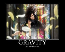 Gravity Motivational by Daimon117