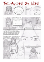 ATLA: The Avatar? Or Her? Pg01 by Eli-Ri