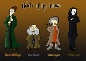 Heads of the House by W1LLSUN