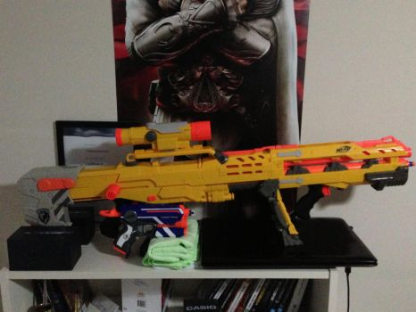 My New Longshot by Woona-tic